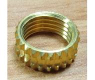 Brass nut  insert