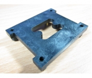 Gate block lower molded,Metal insert