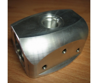 Stainless steel post base