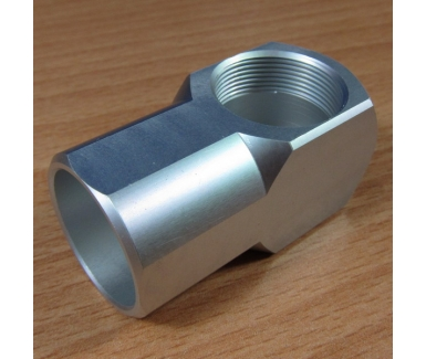 Hose coupling female grey
